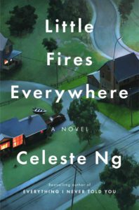 cover art for Little Fires Everywhere by Celeste Ng