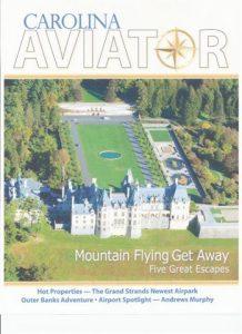 carolinas aviator magazine cover